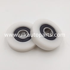 China Plastic coated bearings with PU for pulley bearing supplier
