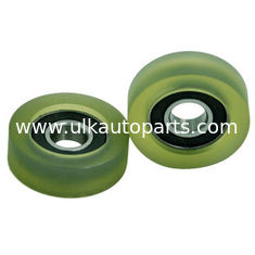China Rubber bearings, 6001 2RS coating with PU, POM supplier