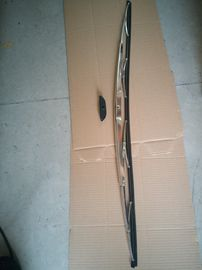 Stainless steel frame wiper blades for bus and ship
